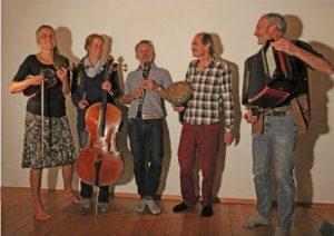 Konzert mit der Band Schlamasseltov